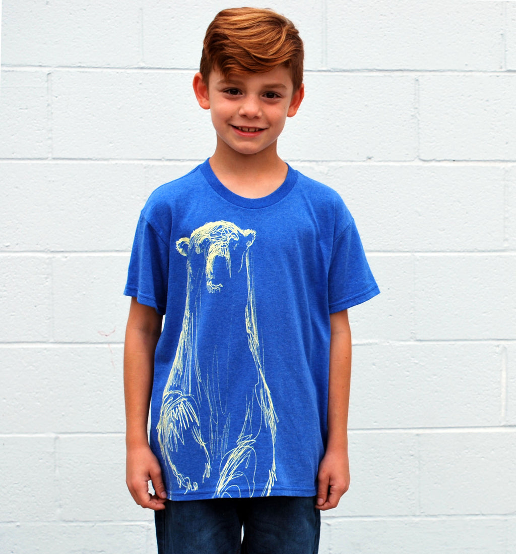Kid's Polar Bear Tee - David's Doodles