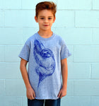 Kid's Sloth Tee - David's Doodles