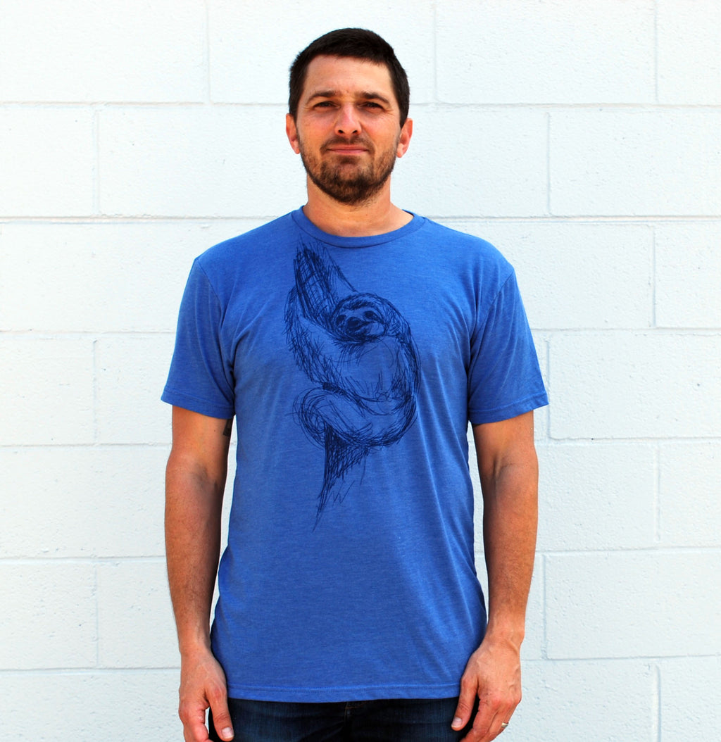 Men's Sloth Tee - David's Doodles