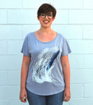 Women's Whale Tee - David's Doodles