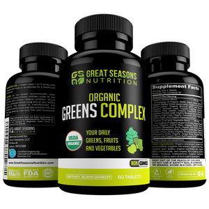 Certified Organic Greens Complex