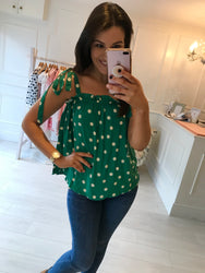 Gill Polka Dot Top