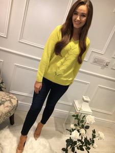 Sunburst Yellow Jumper