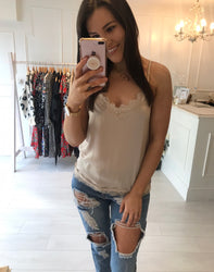 Tiffany Toffy Lace Cami