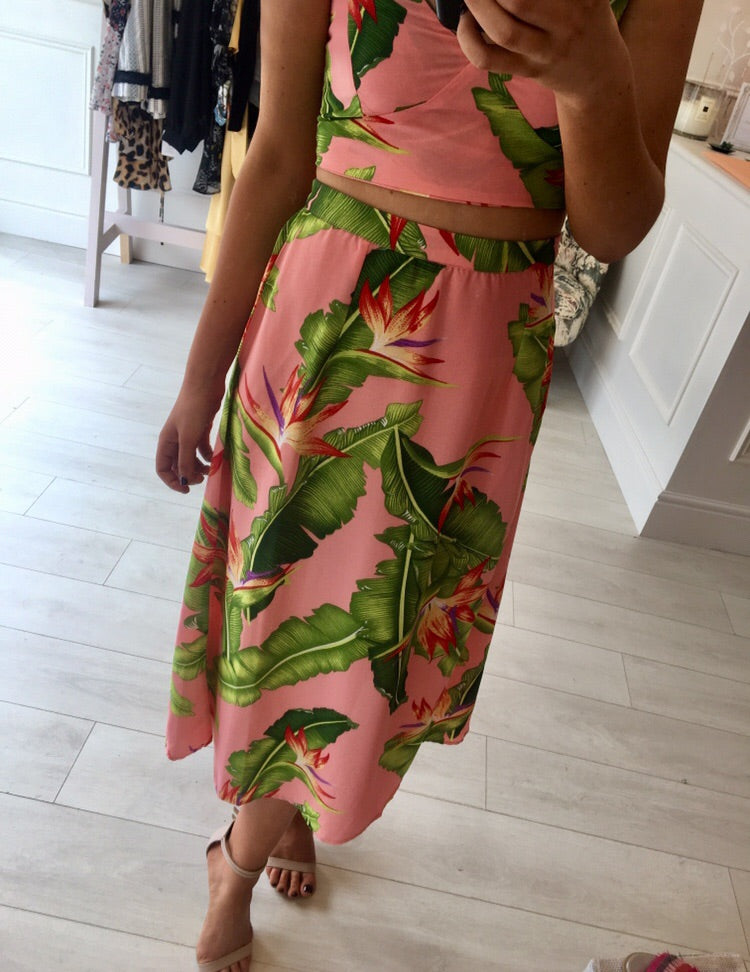 Dancing Leopard- Palm Beach Skirt