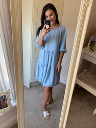Dakota Light Denim Dress