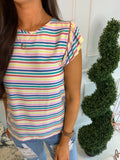Sadie Stripe Top