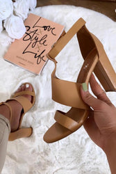 Brown Heel Sandals