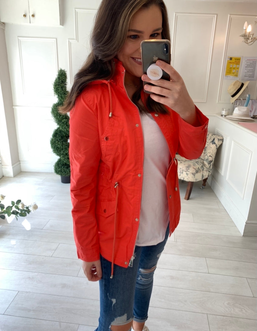 Robyn Tomato Red Summer Jacket