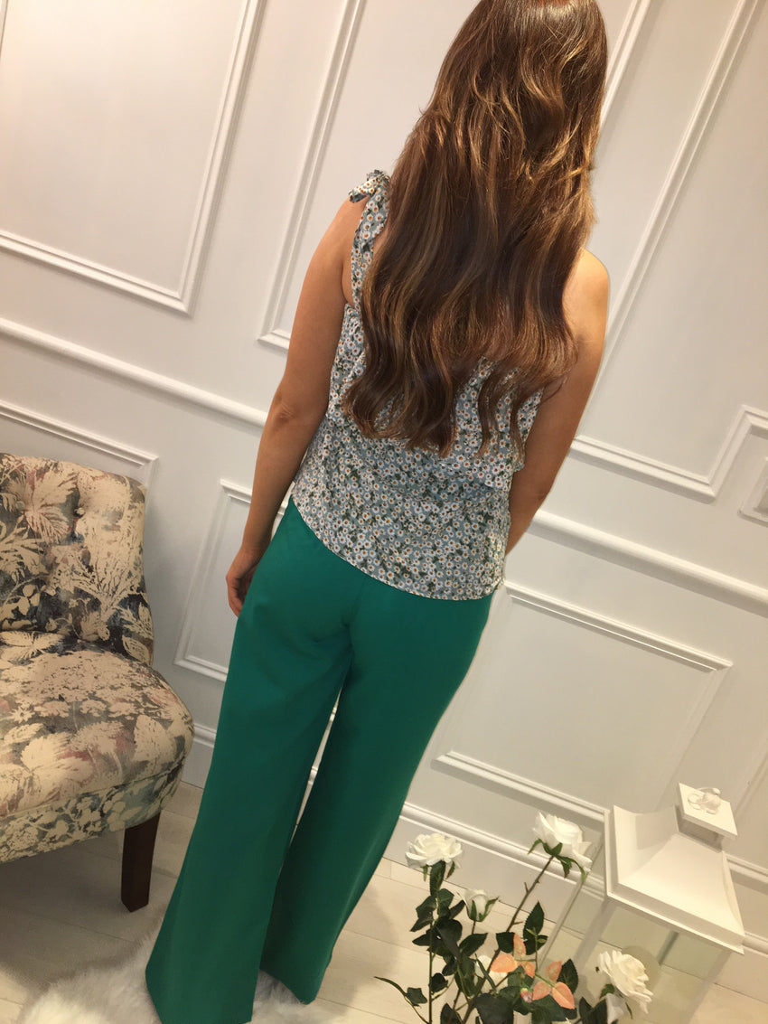 Emerald Green Belle Pants
