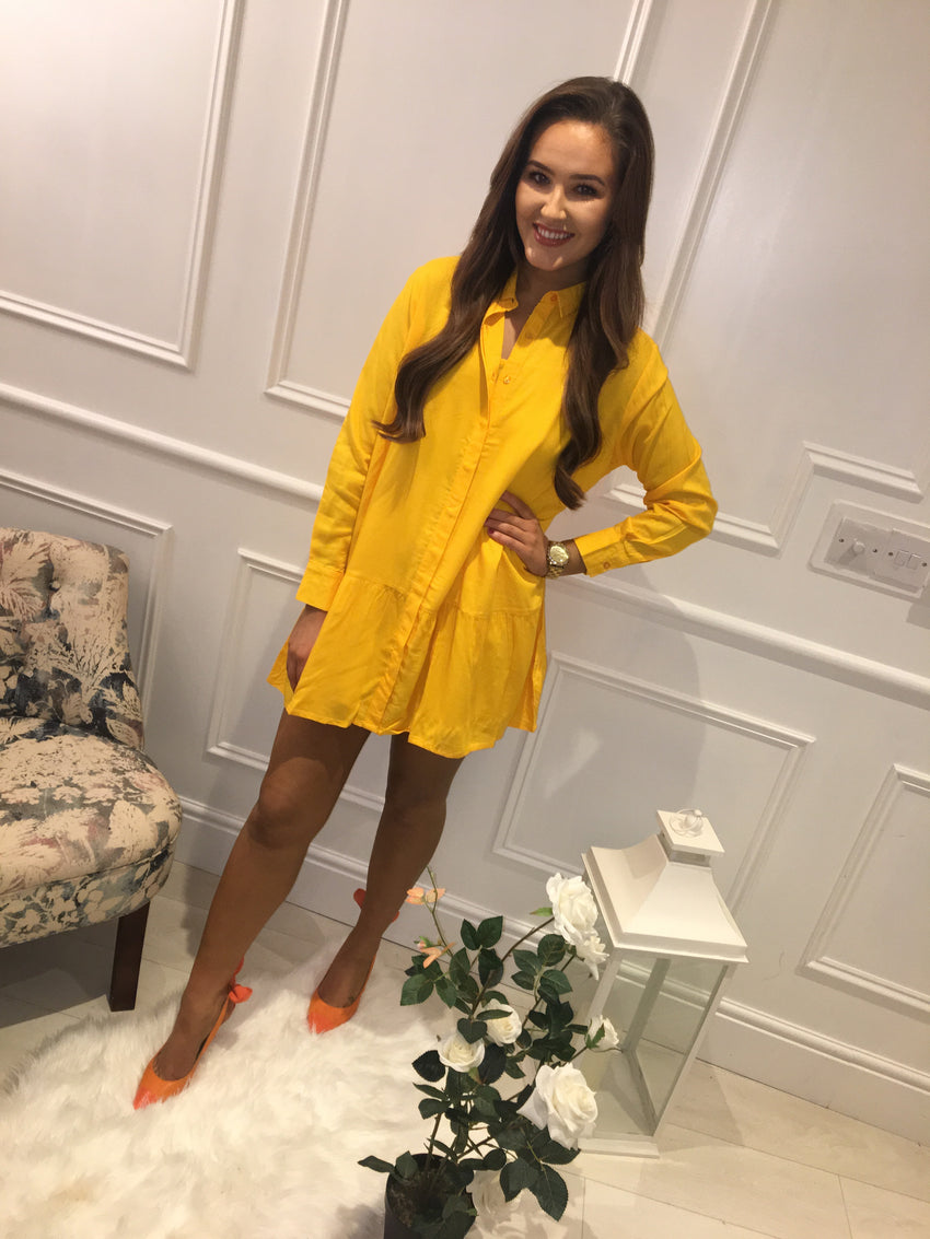 Sunburst Yellow Dress/Tunic