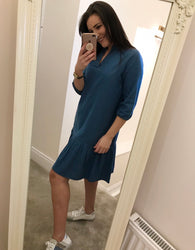 Darcy Denim Frill Dress