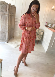 Perry Paisley Dress