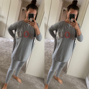 Amour Grey Lounge Suit