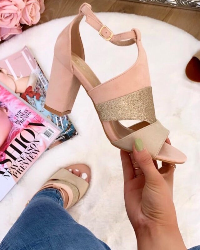 Blush Gold Heel