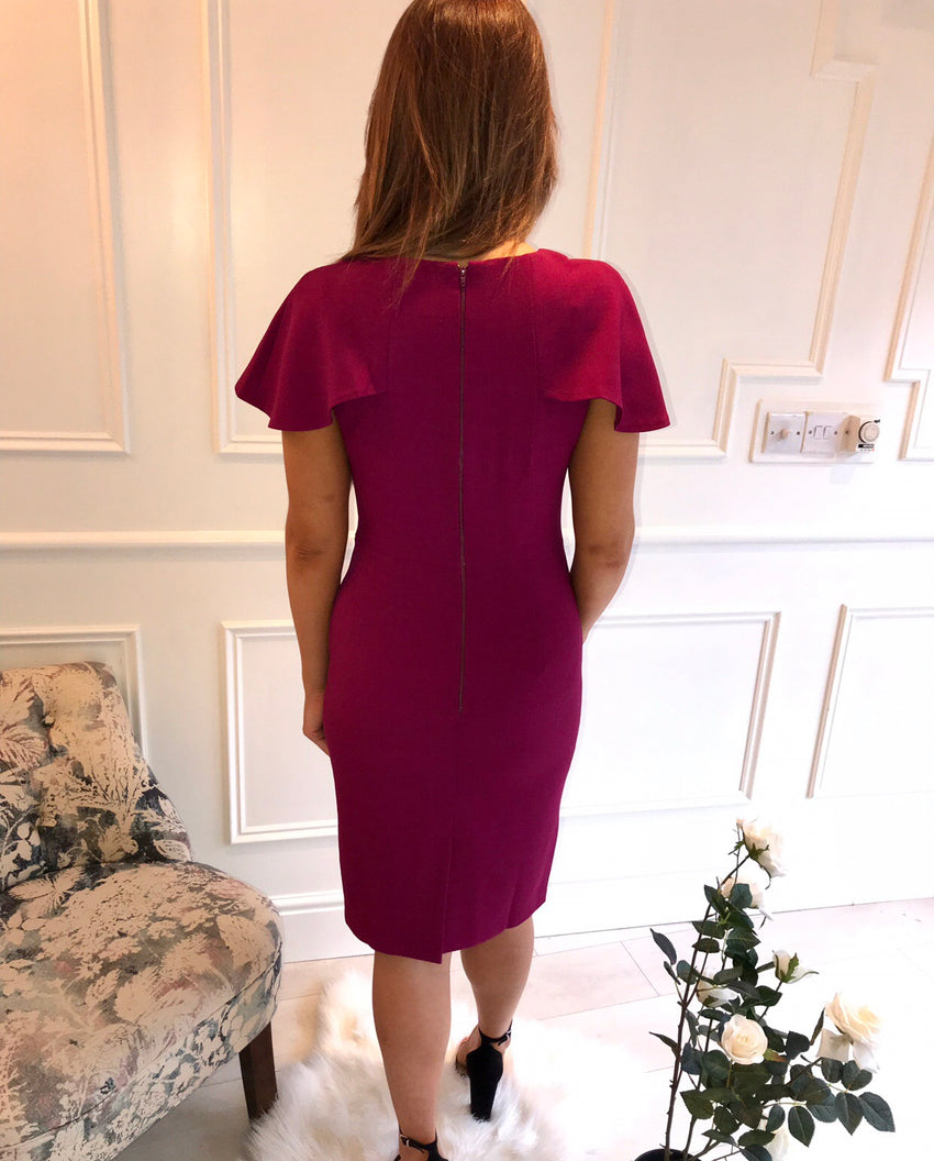 Plum Tailored Dress