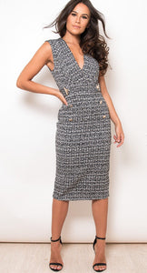 Tweed effect Dress