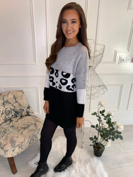 Marissa Grey Jumper Dress