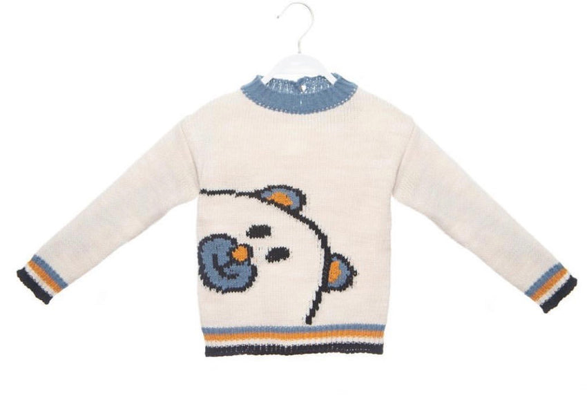 Thomas Bear Detail Jumper