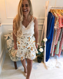 Carrie Floral Skirt