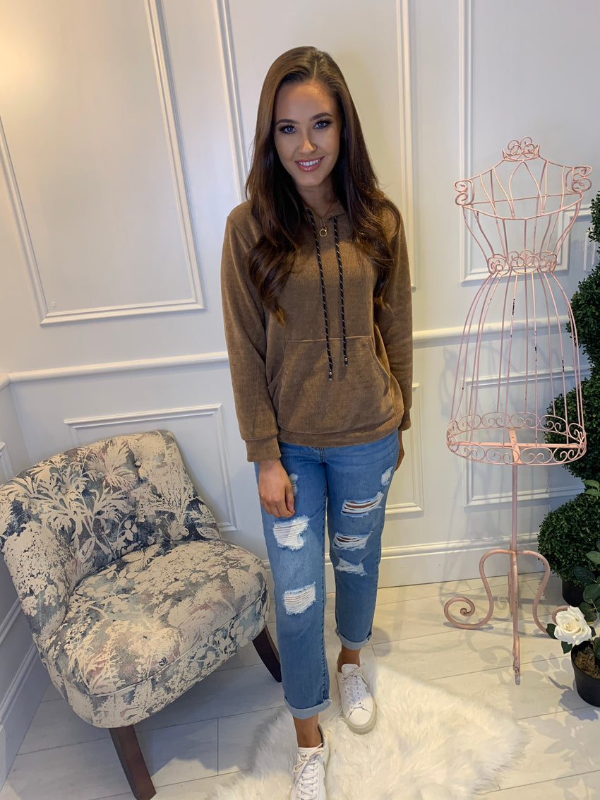 Leah Super Soft Jumper Camel