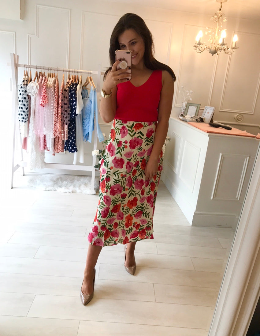 Camilla Floral Skirt