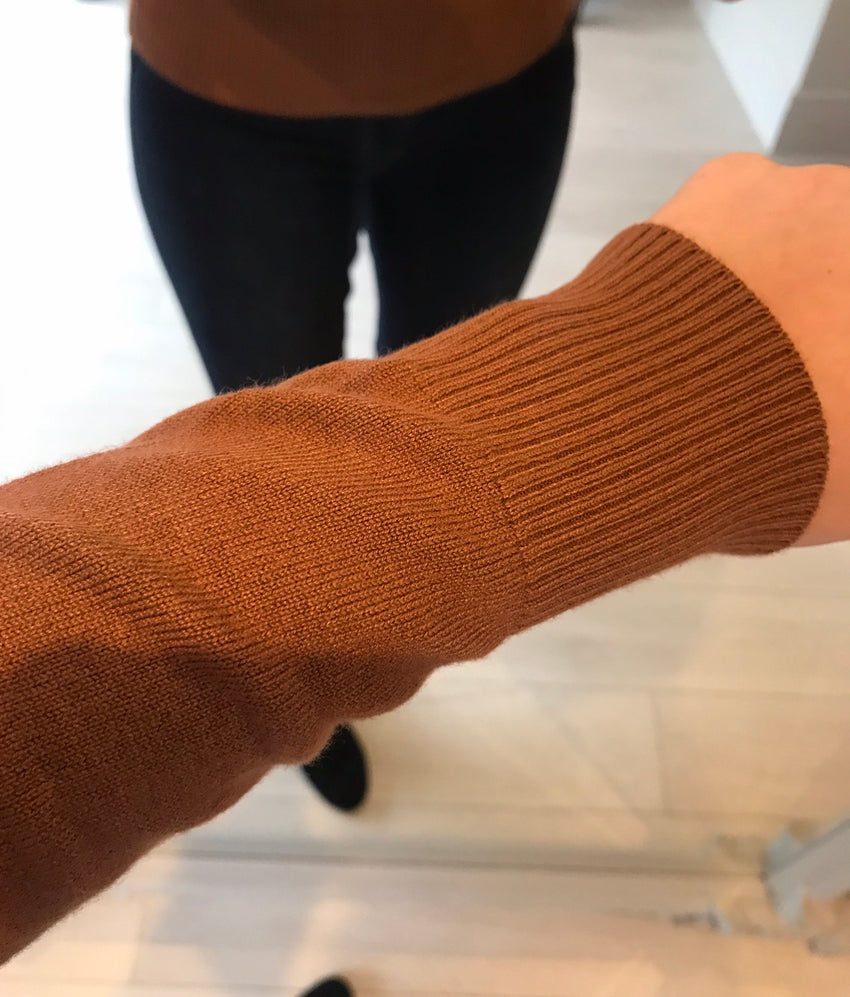 Tan Polo Neck