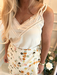Lottie Lace Detail Top