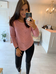 Freya Blush Knit