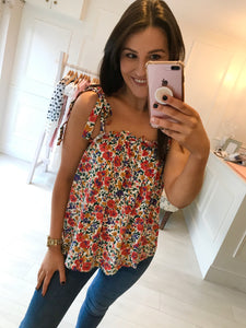 Aoife Floral Top