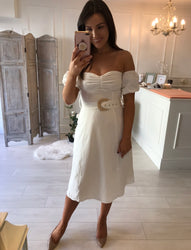 Chloe White Detail Dress