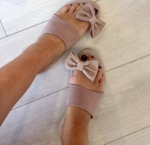 Bow Detail Sandals