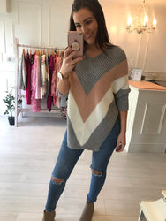 Blush Knitted Jumper