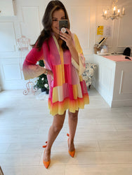Jess Ombré Smock Dress