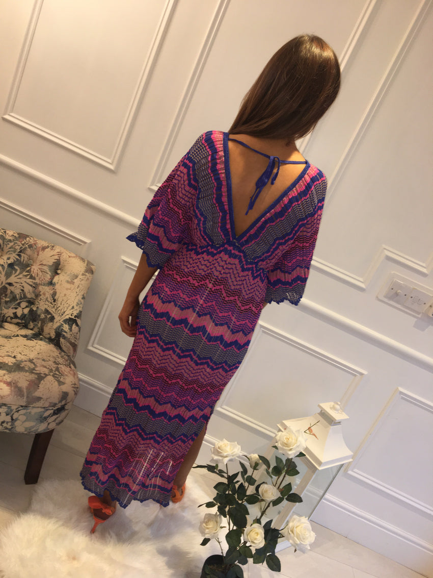 Mizzoni Print Maxi Dress