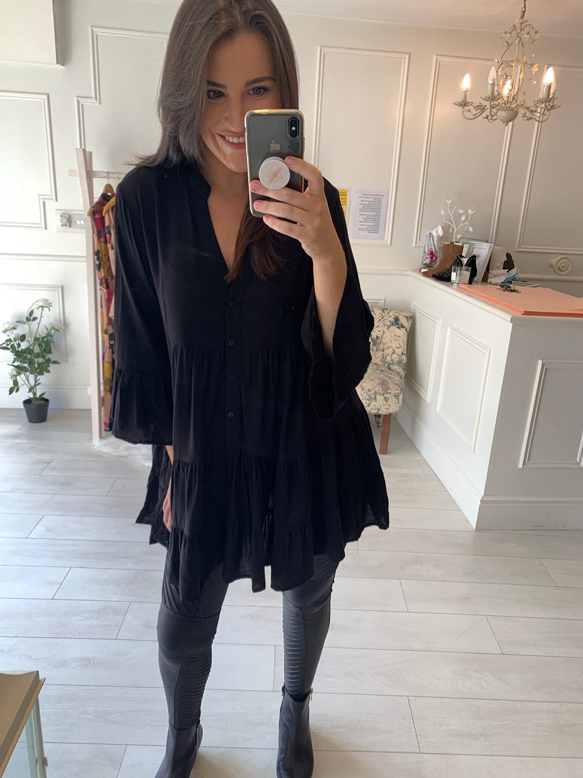 Steph Black Tunic/Dress