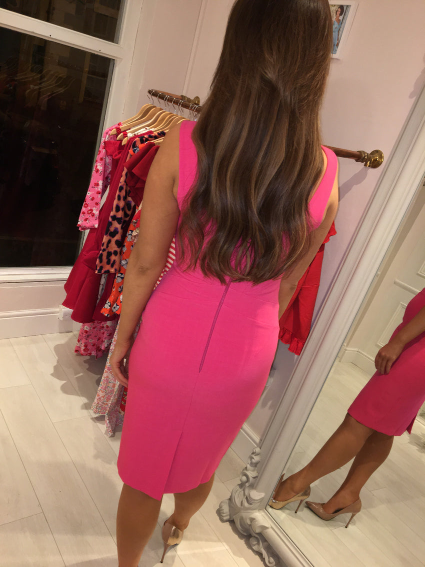 Adora Fuchsia Dress