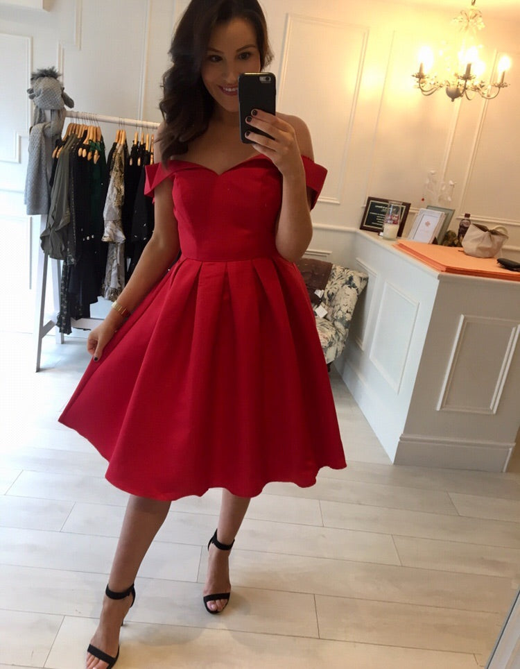 Red Belle Dress
