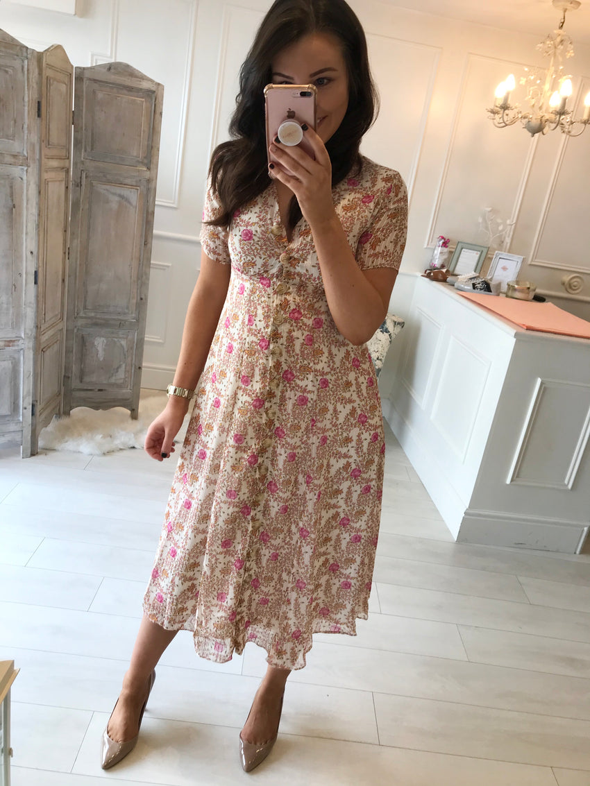 Florence Floral Midi