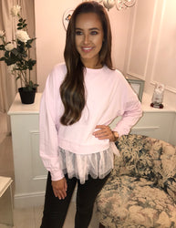 Blush Tulle Jumper