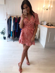 Love Heart Print Dress