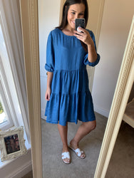 Dakota Dark Denim Dress