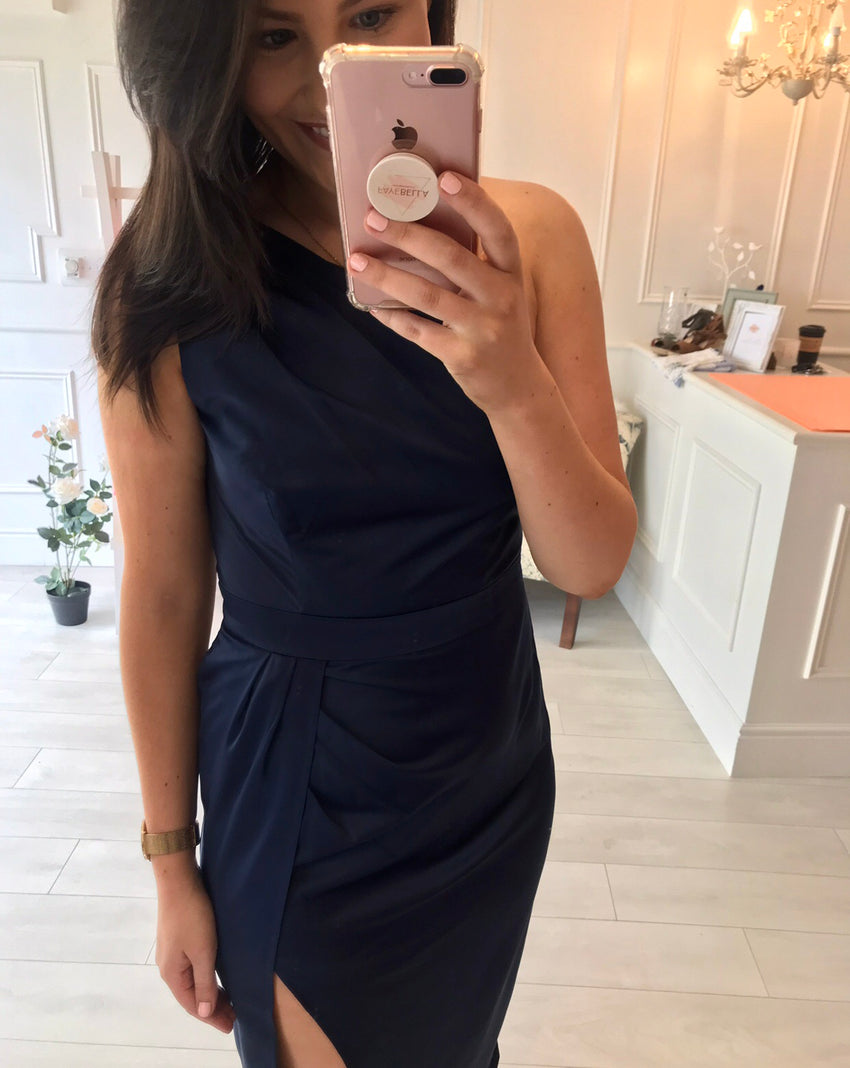 Navy Roann Dress
