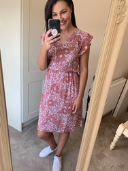 Emmie Blush Floral Dress