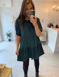 Sabrina Forest Green Dress