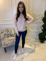 Sienna Blush Super Soft Shooting Star Sweatshirt