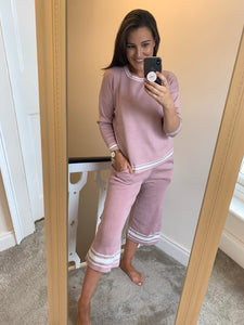 Sorcha Pink Summer Lounge Suit