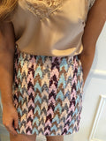 Multi Sequin Skirt