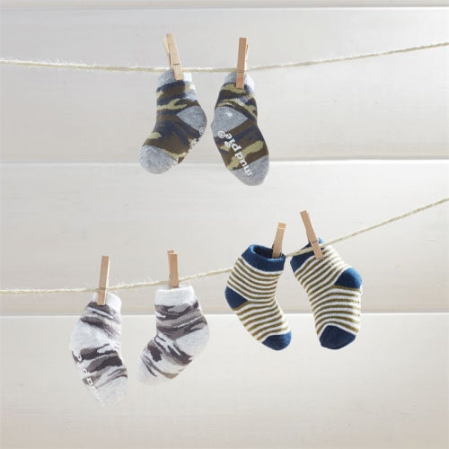 Camo Newborn Sock Set