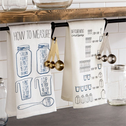 Measurement Spoons and Towel Set
